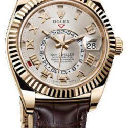 Ремонт часов Rolex 326138 Sky-Dweller 42mm Yellow Gold в мастерской на Неглинной