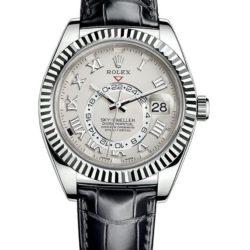 Ремонт часов Rolex 326139 Ivory Roman Sky-Dweller 42 mm White Gold в мастерской на Неглинной