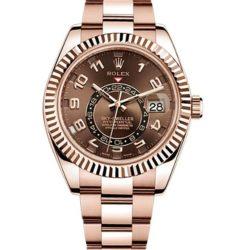 Ремонт часов Rolex 326935 Chocolate Arabic Sky-Dweller 42 mm Everose Gold в мастерской на Неглинной