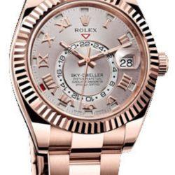 Ремонт часов Rolex 326935 Sky-Dweller 42mm Everose Gold в мастерской на Неглинной