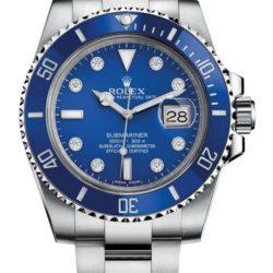 Ремонт часов Rolex M116619LB-0002 Submariner Date White Gold в мастерской на Неглинной