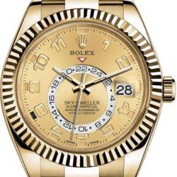 Ремонт часов Rolex M326938-0002 Sky-Dweller 42mm Yellow Gold в мастерской на Неглинной