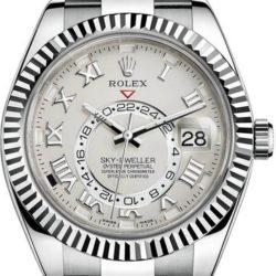 Ремонт часов Rolex M326939-0001 Sky-Dweller 42mm White Gold в мастерской на Неглинной