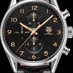 Ремонт часов Tag Heuer CAR2014.FC6235 Carrera Calibre 1887 Automatic Chronograph 43 mm в мастерской на Неглинной