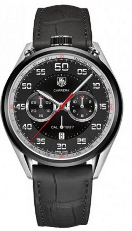 только мужские часы tag heuer carrera calibre 1887 chronograph это элегантный