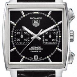 Ремонт часов Tag Heuer CAW2110.FC6177 Monaco Calibre 12 Automatic Chronograph 39 mm в мастерской на Неглинной