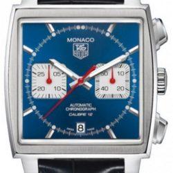 Ремонт часов Tag Heuer CAW2111.FC6183 Monaco Calibre 12 Automatic Chronograph 39 mm в мастерской на Неглинной