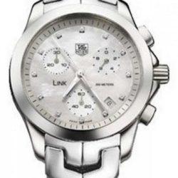 Ремонт часов Tag Heuer CJF1312.BA0580 Link Diamond Dial Chronograph 33 mm в мастерской на Неглинной