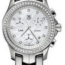 Ремонт часов Tag Heuer CJF1314.BA0580 Link Link Diamond Dial & Bezel Chronograph 33 mm в мастерской на Неглинной