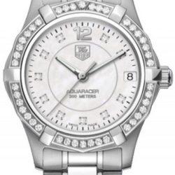 Ремонт часов Tag Heuer WAF1313.BA0819 Aquaracer Diamond Dial and Bezel 32 mm в мастерской на Неглинной