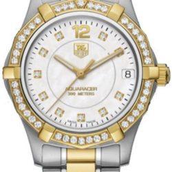Ремонт часов Tag Heuer WAF1350.BB0820 Aquaracer Diamond Dial and Bezel 32 mm в мастерской на Неглинной