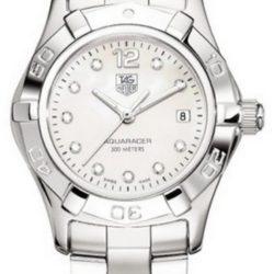 Ремонт часов Tag Heuer WAF1415.BA0824 Aquaracer Diamond Dial 27 mm в мастерской на Неглинной