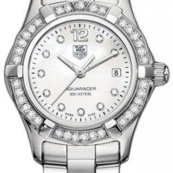 Ремонт часов Tag Heuer WAF1416.BA0824 Aquaracer Diamond Dial and Bezel 27 mm в мастерской на Неглинной