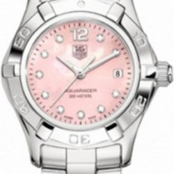 Ремонт часов Tag Heuer WAF141A.BA0824 Aquaracer Diamond Dial 27 mm в мастерской на Неглинной