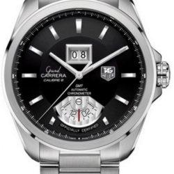 Ремонт часов Tag Heuer WAV5111.BA0901 Grand Carrera Calibre 8 RS Grand-Date GMT Automatic 42.5 mm в мастерской на Неглинной