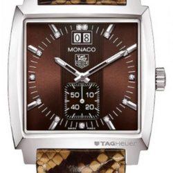 Ремонт часов Tag Heuer WAW1315.FC6217 Monaco Grande Date Diamond Dial 37 mm в мастерской на Неглинной