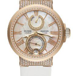 Ремонт часов Ulysse Nardin 1182-160C-3C/490 Marine Manufacture Chronometer Lady в мастерской на Неглинной