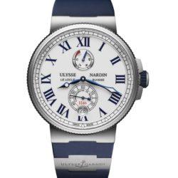 Ремонт часов Ulysse Nardin 1183-122-3/40 Marine Manufacture Chronometer в мастерской на Неглинной