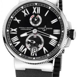 Ремонт часов Ulysse Nardin 1183-122-3/42 Marine Manufacture Chronometer 45 mm Steel Ti в мастерской на Неглинной