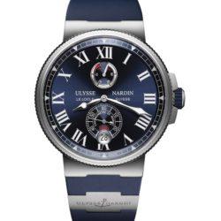 Ремонт часов Ulysse Nardin 1183-122-3/43 Marine Manufacture Chronometer в мастерской на Неглинной