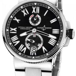 Ремонт часов Ulysse Nardin 1183-122-7/42 Marine Manufacture Chronometer 45 mm Steel Bracelet в мастерской на Неглинной