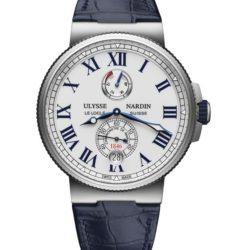 Ремонт часов Ulysse Nardin 1183-122/40 Marine Manufacture Chronometer в мастерской на Неглинной