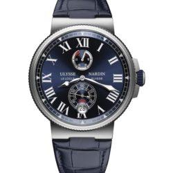Ремонт часов Ulysse Nardin 1183-122/43 Marine Manufacture Chronometer в мастерской на Неглинной