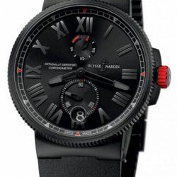Ремонт часов Ulysse Nardin 1183-122LE-3C/BLACK-BQ Marine Manufacture Marine Chronometer Series Blaktop в мастерской на Неглинной