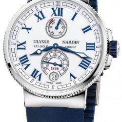 Ремонт часов Ulysse Nardin 1183-126-3/40 Marine Manufacture 43mm в мастерской на Неглинной