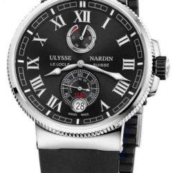 Ремонт часов Ulysse Nardin 1183-126-3/42 Marine Manufacture 43mm в мастерской на Неглинной