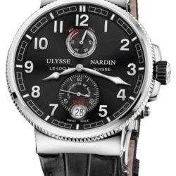 Ремонт часов Ulysse Nardin 1183-126/62 Maxi Marine Chronometer 43mm Chronometer 43 mm Steel в мастерской на Неглинной