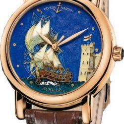 Ремонт часов Ulysse Nardin 136-11/ACH Classico Cloisonne в мастерской на Неглинной