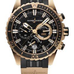 Ремонт часов Ulysse Nardin 1502-151-3/92 Maxi Marine Diver Chronograph в мастерской на Неглинной