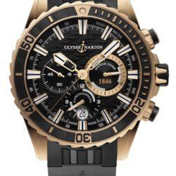 Ремонт часов Ulysse Nardin 1502-151-3C/92 Maxi Marine Diver Chronograph в мастерской на Неглинной