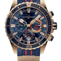 Ремонт часов Ulysse Nardin 1502-151LE-3/93-Hammer Maxi Marine Diver Chronograph в мастерской на Неглинной