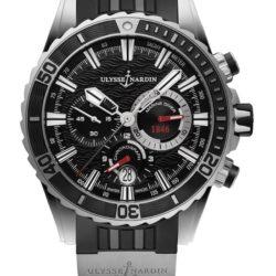 Ремонт часов Ulysse Nardin 1503-151-3/92 Maxi Marine Diver Chronograph в мастерской на Неглинной