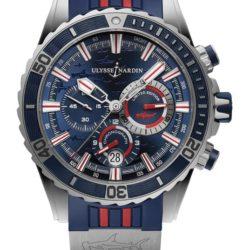 Ремонт часов Ulysse Nardin 1503-151LE-3/93-Hammer Maxi Marine Diver Chronograph в мастерской на Неглинной