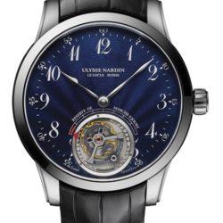 Ремонт часов Ulysse Nardin 1780-133/E3 Classico Anchor Tourbillon в мастерской на Неглинной