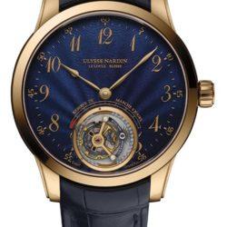 Ремонт часов Ulysse Nardin 1786-133/E3 Classico Anchor Tourbillon в мастерской на Неглинной
