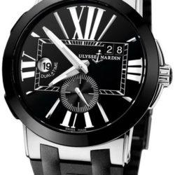Ремонт часов Ulysse Nardin 243-00-3/42 Executive Dual Time 43mm в мастерской на Неглинной