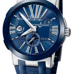 Ремонт часов Ulysse Nardin 243-00-3/43 Executive Dual Time 43mm в мастерской на Неглинной