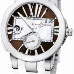 Ремонт часов Ulysse Nardin 243-10-3/30-05 Executive Dual Time Lady Executive в мастерской на Неглинной