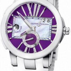Ремонт часов Ulysse Nardin 243-10-3/30-07 Executive Dual Time Lady Steel в мастерской на Неглинной