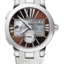 Ремонт часов Ulysse Nardin 243-10/30-05 Executive Dual Time Lady 40 mm в мастерской на Неглинной