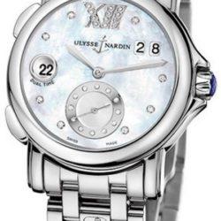 Ремонт часов Ulysse Nardin 243-22-7/391 Dual Time Ladies GMT Big Date 37mm в мастерской на Неглинной