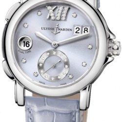 Ремонт часов Ulysse Nardin 243-22/30-07 Dual Time Ladies GMT Big Date 37mm в мастерской на Неглинной