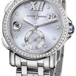 Ремонт часов Ulysse Nardin 243-22B-7/30-07 Dual Time Ladies GMT Big Date 37mm в мастерской на Неглинной