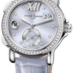 Ремонт часов Ulysse Nardin 243-22B/30-07 Dual Time Ladies GMT Big Date 37mm в мастерской на Неглинной