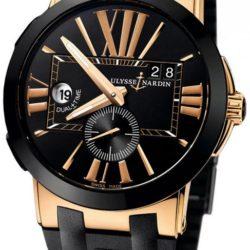 Ремонт часов Ulysse Nardin 246-00-3/42 Executive Dual Time 43mm в мастерской на Неглинной