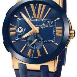 Ремонт часов Ulysse Nardin 246-00-3/43 Executive Dual Time 43mm в мастерской на Неглинной